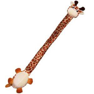 KONG игрушка для собак Danglers Жираф  с шуршащей шеей