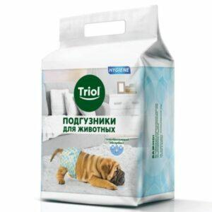 Подгузники для животных Triol XS 2-4кг