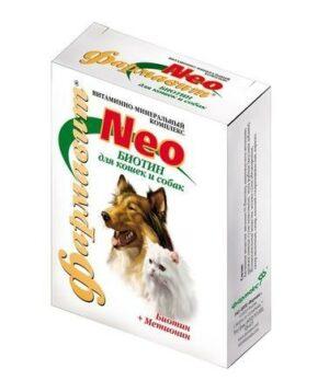 ФАРМАВИТ NEO для собак и кошек биотин