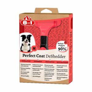 8in1 Дешеддер Perfect Coat M для средних собак