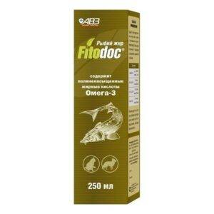 Фитодок Рыбий жир 250мл (уп24) 74082
