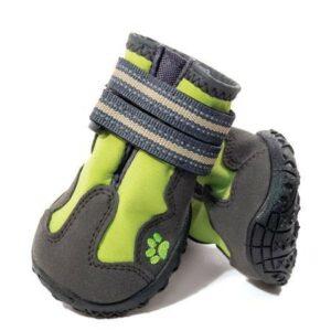 TRIOL Ботинки для собак M, зеленые