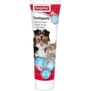 BEAPHAR Dog-A-Dent зубная паста для собак и кошек со вкусом печени