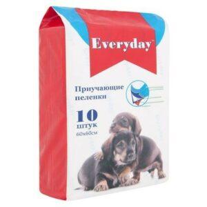 EVERYDAY  пеленки для животных впитывающие гелевые