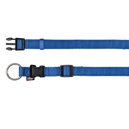 TRIXIE Ошейник д/собак Premium p-p M-L 35-55см/20мм, синий NEW