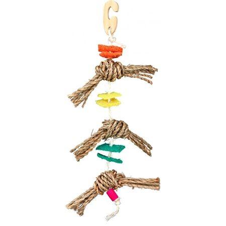 Игрушка дптиц на веревке Trixie