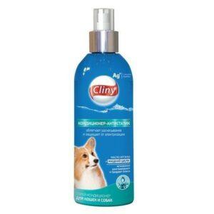 CLINY кондиционер-антистатик спрей для кошек и собак
