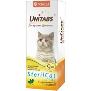 UNITABS  паста для кастрированных котов и стерилизованных кошек