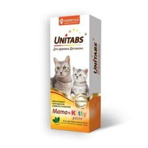 UNITABS  паста для котят, кормящих и беременных кошект