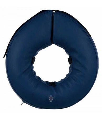 TRIXIE S–M воротник защитный надувной синий
