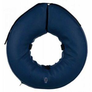 TRIXIE  M воротник защитный надувной синий