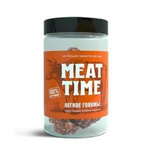 MEAT TIME Легкое говяжье Хрустящие кубики мелкие 30г