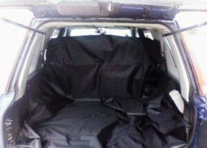 Автогамак в багажник  с защитой подголовников