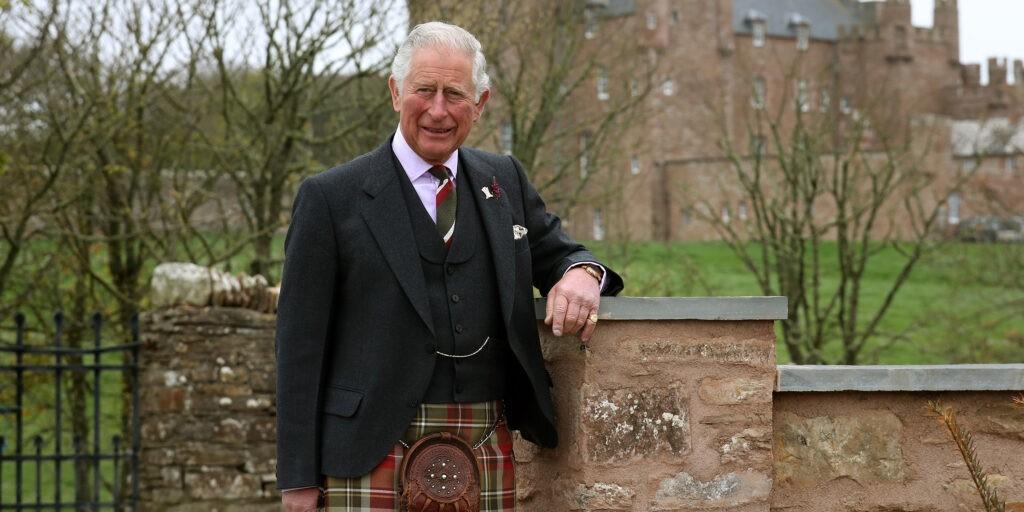 Принц Чарльз усыновил четырех маленьких ежей