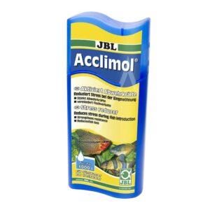 JBL Acclimol - Кондиционер для акклиматизации рыб в пресноводных аквариумах, 250 мл, на 1000 л