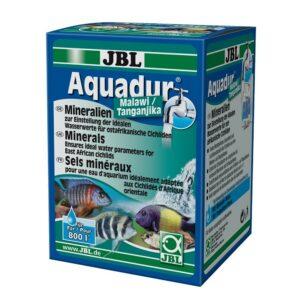 JBL Aquadur Malawi/Tanganjika - Препарат с минеральными солями для аквариумов с рыбами из озёр Малави и Танганьика, 250 г, на 800/300 л