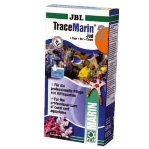 JBL TraceMarin 2 - Препарат с йодом, фтором, бором и хромом для морских аквариумов, 500 мл, на 7000 л