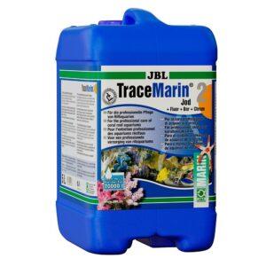 JBL TraceMarin 2 - Препарат с йодом, фтором, бором и хромом для морских аквариумов, 5 л, на 70000 л