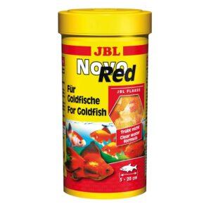 JBL NovoRed - Основной корм в форме хлопьев для золотых рыбок, 250 мл (45 г)