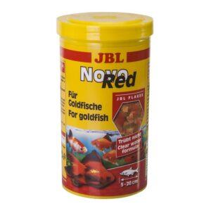 JBL NovoRed - Основной корм в форме хлопьев для золотых рыбок, 1000 мл (190 г)