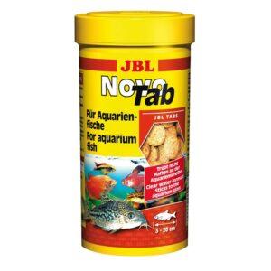 JBL NovoTab - Основной корм в форме таблеток для пресноводных аквариумных рыб, 250 мл (150 г)