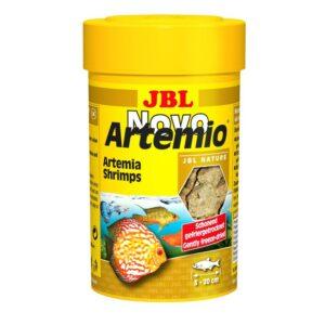 JBL NovoArtemio - Дополнительный корм с артемией для любых аквариумных рыб, 100 мл (6 г)