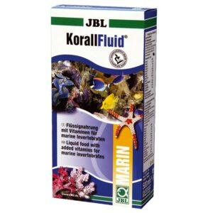 JBL KorallFluid - Жидкий корм с витаминами для кораллов, трубчатых червей и моллюсков в морском аквариуме, 500 мл