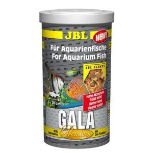 JBL Gala - Основной корм премиум-класса в форме хлопьев для пресноводных аквариумных рыб, 1 л (160 г)