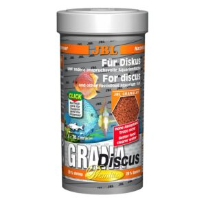 JBL GranaDiscus - Основной корм премиум-класса в форме гранул для дискусов, 250 мл (110 г)