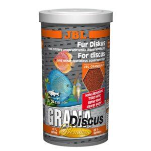 JBL GranaDiscus - Основной корм премиум-класса в форме гранул для дискусов, 1 л (440 г)