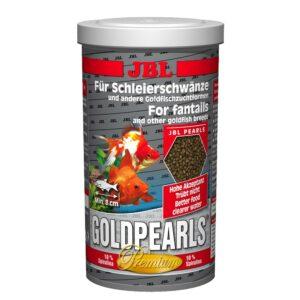 JBL GoldPearls - Основной корм премиум-класса в форме гранул для золотых рыбок, 1 л (580 г)