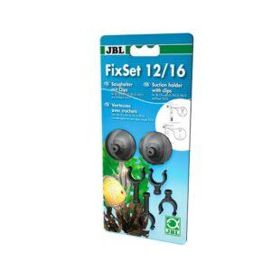 JBL FixSet 12/16 - Универсальный набор присосок для крепления трубок и шлангов внешнего фильтра CP e40x/70x/90x