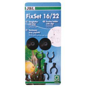 JBL FixSet 16/22 - Универсальный набор присосок для крепления трубок и шлангов внешнего фильтра CP e150x