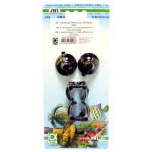 JBL suction cup with clip 23 - Присоска с зажимом для крепления предметов диаметром 23-28 мм, 2 шт.