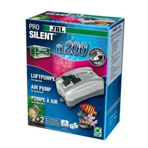 JBL ProSilent a200 - Компрессор для пресноводных и морских аквариумов 50-300 л, 3,5 Вт