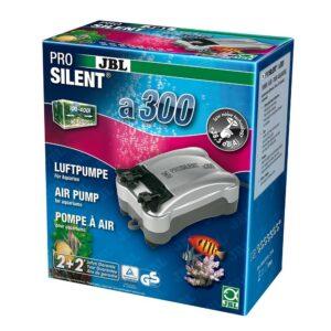 JBL ProSilent a300 - Компрессор для пресноводных и морских аквариумов 100-400 л, 3,9 Вт