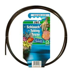 JBL Aquarium tubing GREY air 4/6 - Гибкий воздушный шланг, прозрачный серый, 2,5 м, на подвесе