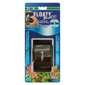 JBL Floaty Blade L - Плавающий магнитный скребок с лезвием для чистки аквариумных стекол толщиной до 15 мм