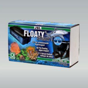 JBL Floaty Shark - Плавающий магнитный скребок для чистки толстых аквариумных стекол до 30 мм