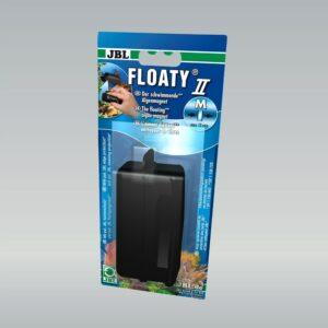 JBL Floaty II M - Плавающий магнитный скребок для чистки аквариумных стекол до 10 мм