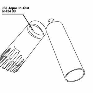 JBL Aqua In-Out cleaning comb kit - Гребень для чистки грунта