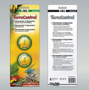 JBL TerraControl - Термометр и гигрометр для террариума с присосками