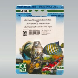 JBL Clips T8 (metal) - Металлическая клипса для крепления рефлектора к люминесцентной лампе, 2 шт.