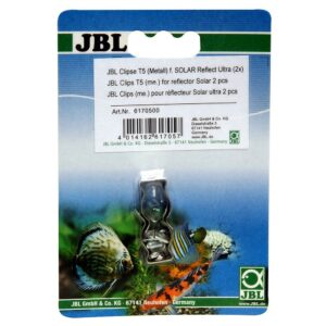 JBL Clips T5 (metal) - Металлическая клипса для крепления рефлектора к люминесцентной лампе, 2 шт.