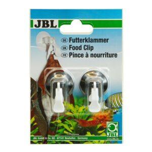 JBL Food Clip - Универсальный зажим с присоской для листового корма, 2 шт.