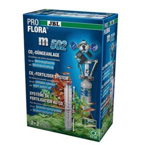 JBL ProFlora m502 - СО2-система с многоразовым баллоном 500 г и ЭМ клапаном для аквариумов до 600 л (120 см), полный комплект
