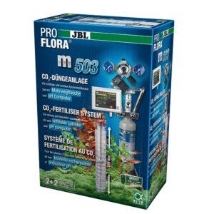 JBL ProFlora m503 - СО2-система с многоразовым баллоном 500 г и pH-контроллером для аквариумов 100-600 л, полный комплект