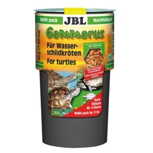 JBL Gammarus Refill - Лакомство для водных черепах размером 10-50 см в экономичной упаковке, 750 мл (80 г)