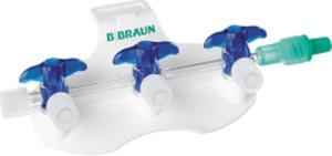 B.Braun Блок из 3 кранов Дискофикс С синий