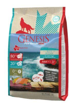 Genesis Pure Canada Blue Ocean Adult для взрослых собак всех пород с лососем, сельдью и курицей - 907 г